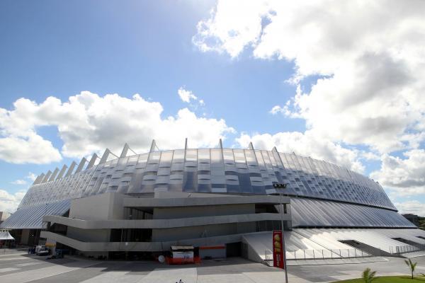 Arena Pernambuco fica no interior do estado