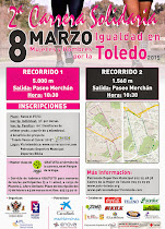2ª Carrera Solidaria por la Igualdad, en Toledo