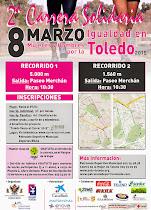 2ª Carrera Solidaria por la Igualdad, en Toledo