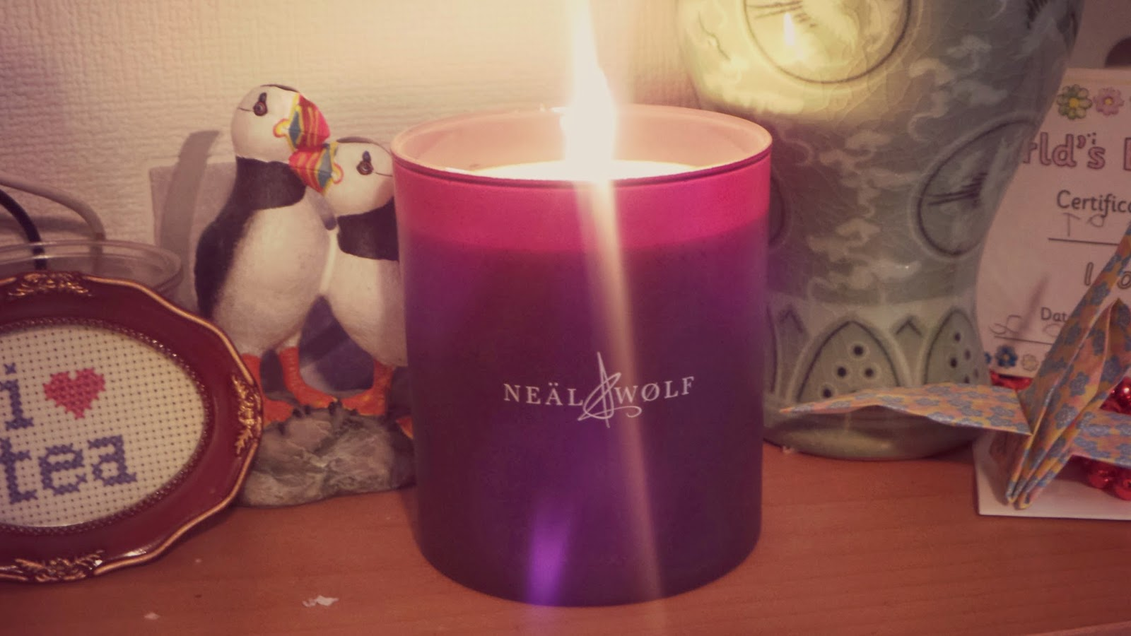 candle that smells like shampoo