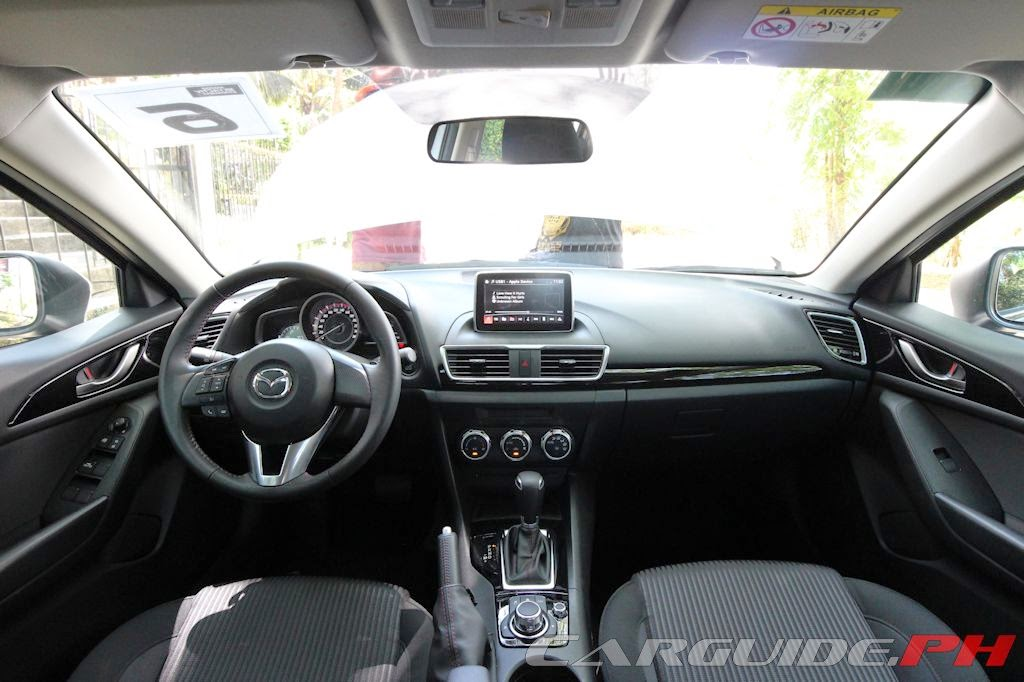 First Drive 2014 Mazda3 15 V and 20 R  CarGuidePH
