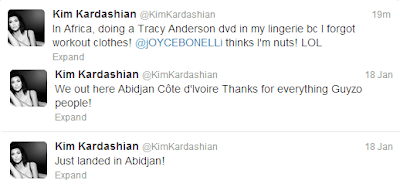 Kim Kardashian Africa