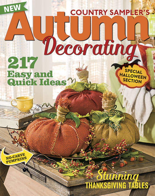 halloween collector country sampler 39 s 2015 autumn decorating magazine