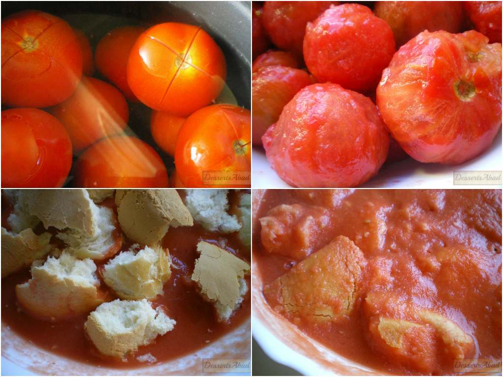 Ingredientes salmorejo