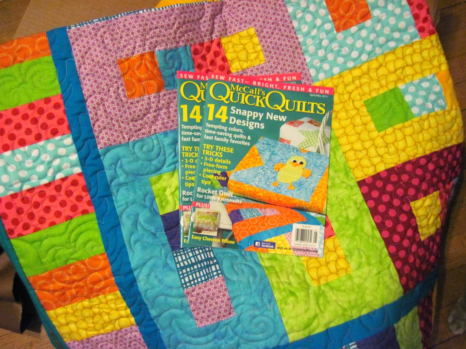 McCalls Quick Quilts publication 2013