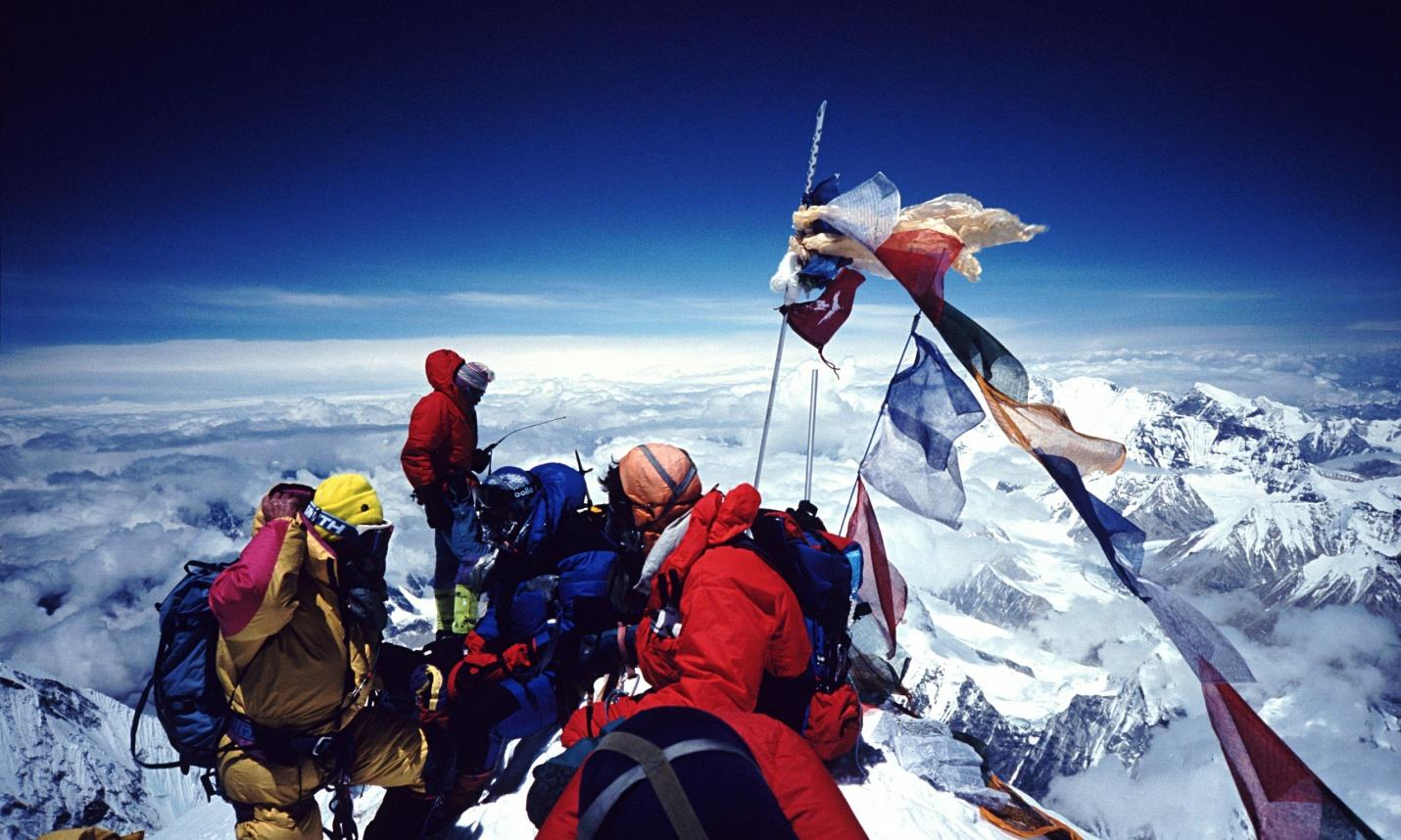 mount everest hillary and tenzing contrast