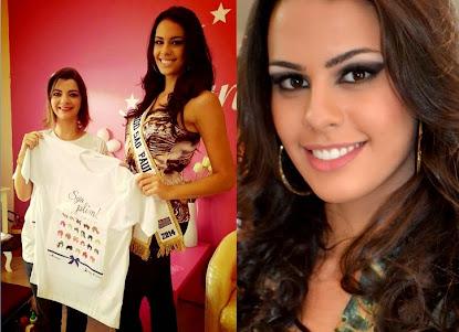 Miss Mundo São Paulo, Victória Ceotto é oficialmente a madrinha da campanha Seja Plim!