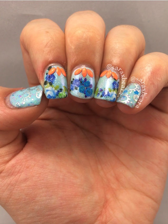 Nail Art Challenge April Weather
