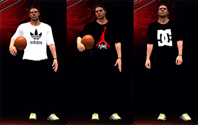 NBA 2K13 Casual Clothes - Shirt & Pants Preview