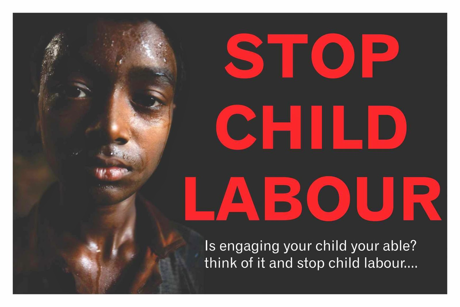 child labour begone involved will eventually sp wider and more up the rakes of political power i have many more social actions coming along this social justice journey