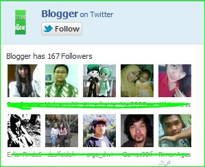 Cara Memasang dan membuat widget  follower twitter fan box