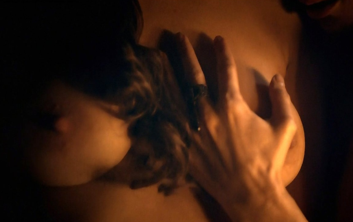 image Jaime murray nude boobs and nipples in dexter scandalplanet