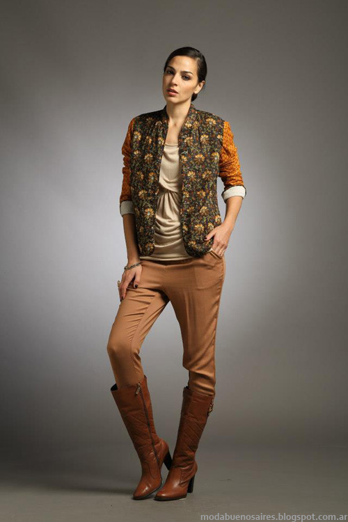 Sathya invierno 2013 moda ropa de mujer.