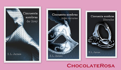 50 Sombras: La Trilogía de E.L.James  Chocolate Rosa
