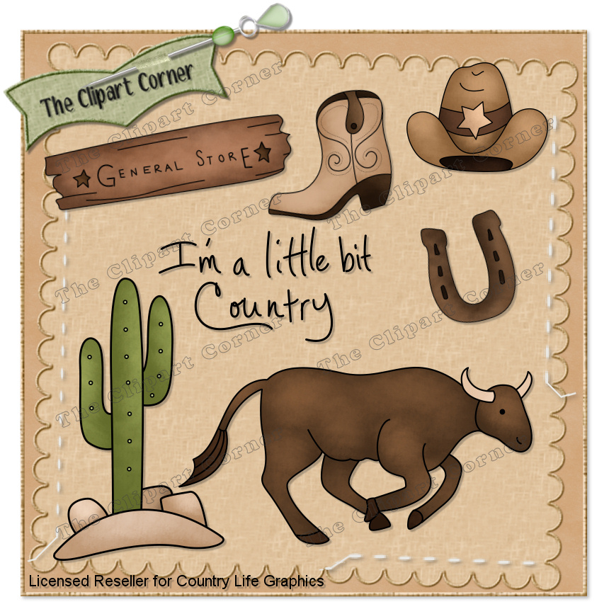 country western clip art