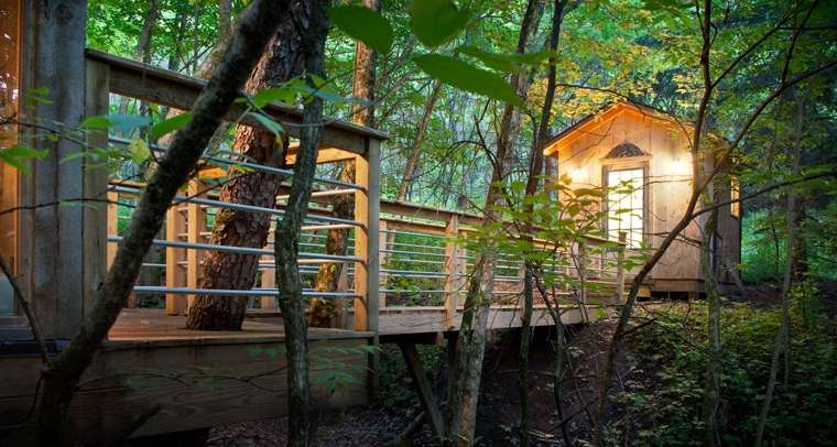 The Glass House Cabin In Georgia : Coolest cabins glass house cabin