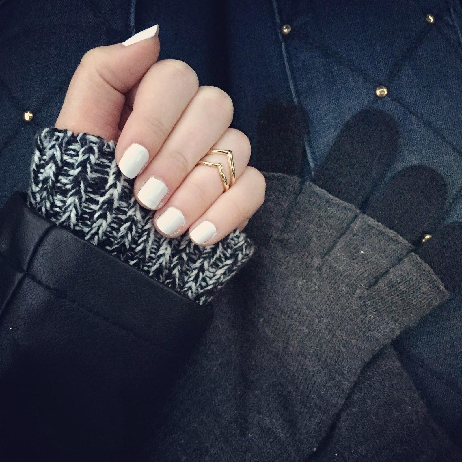 Favorite nail trend: Bright white