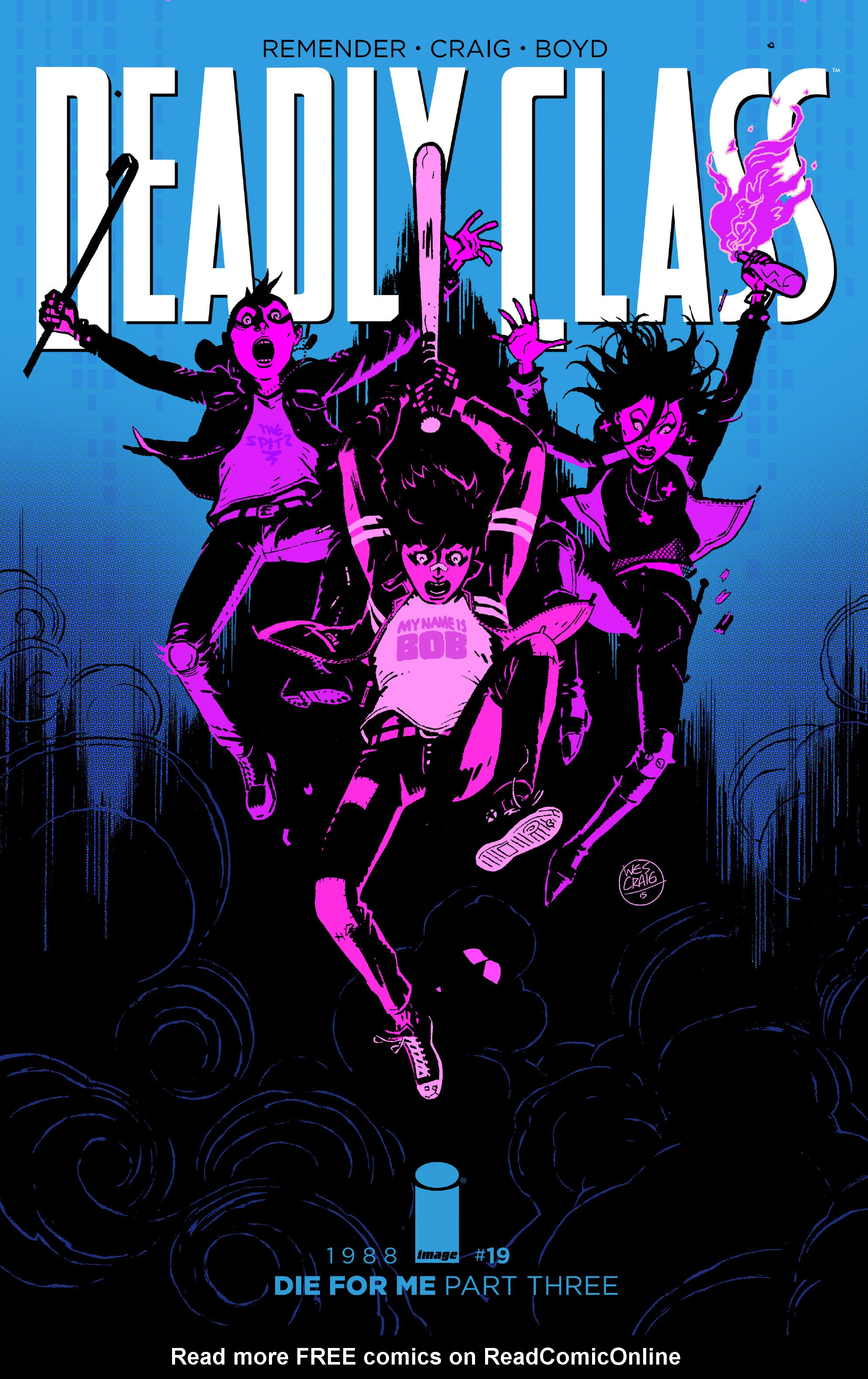 Read online Deadly Class comic -  Issue #19 - 1