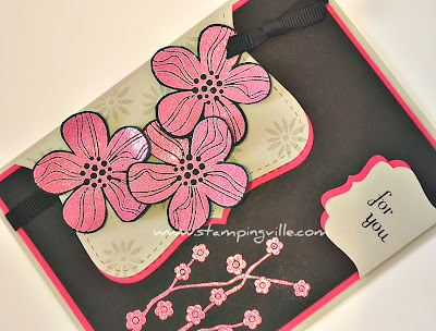 Eastern Blooms Stamp Set + Melon Mambo Embossing Powder
