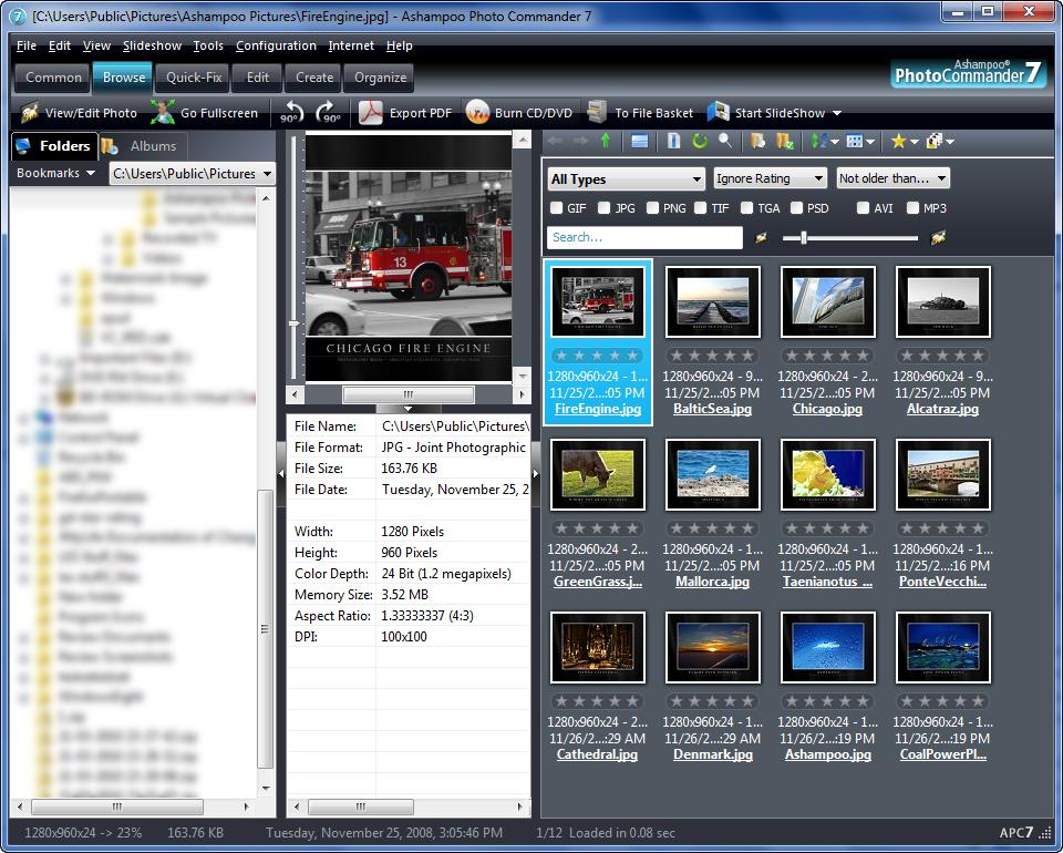 Ashampoo Photo Commander v11.0.3 Full Version Portable