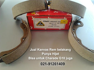 Jual Kanvas Rem Belakang