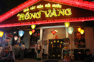Rồng Vàng water puppet theater