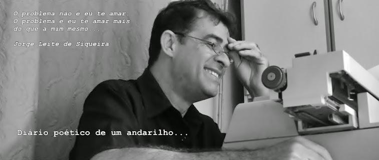 DIÁRIO POÉTICO DE UM ANDARILHO - JORGE DE SIQUEIRA
