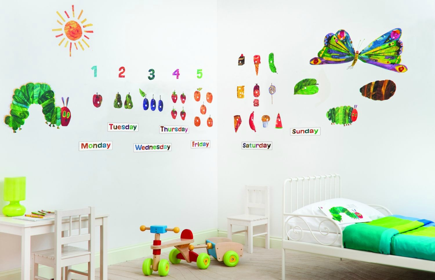 Attractive Hungry Caterpillar Wall Stickers Part - 6: Amazing Hungry Caterpillar Wall Stickers Part - 2: ... Marvelous Very Hungry  Caterpillar