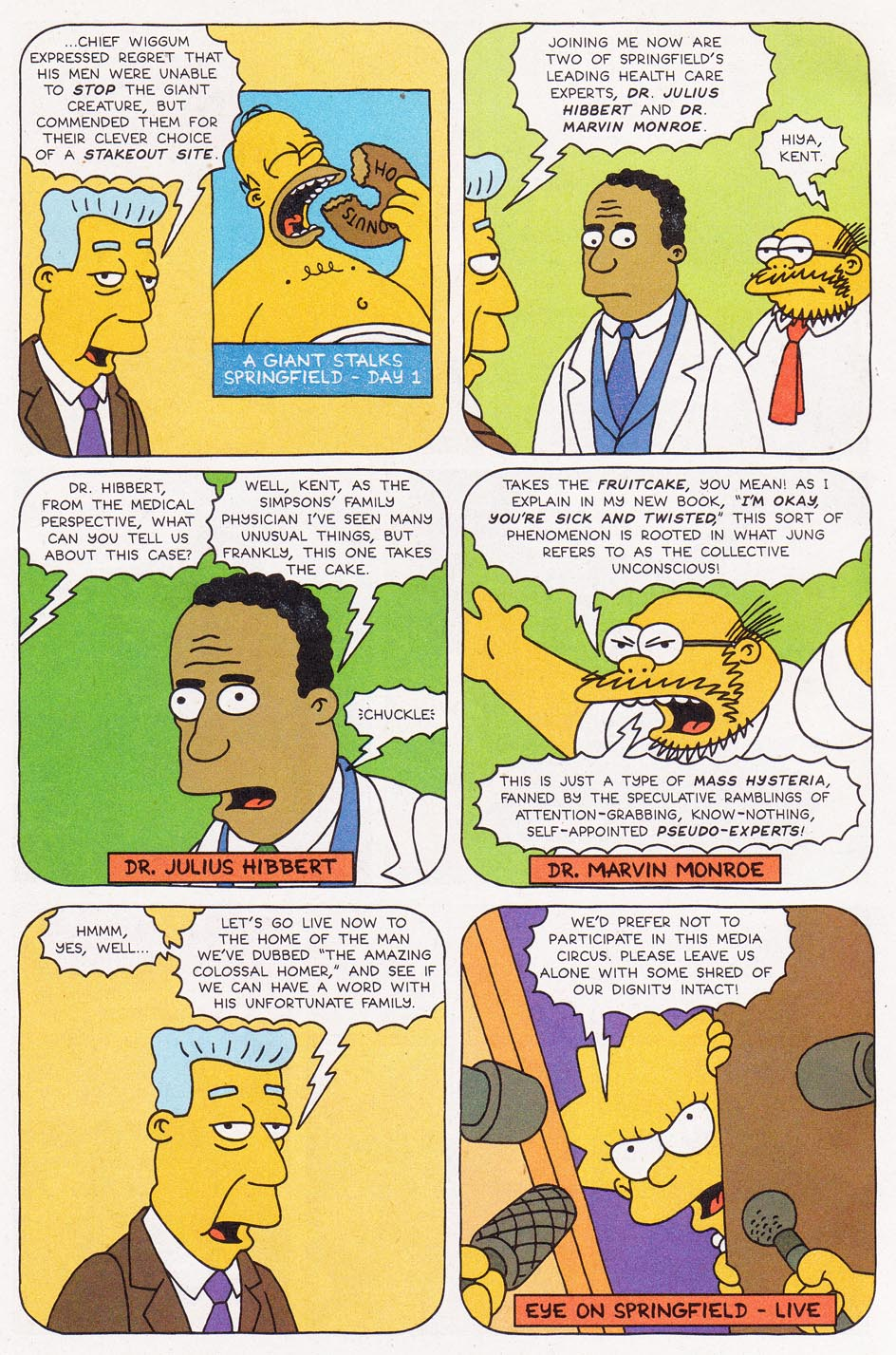 Read online Simpsons Comics comic -  Issue #1 - 16