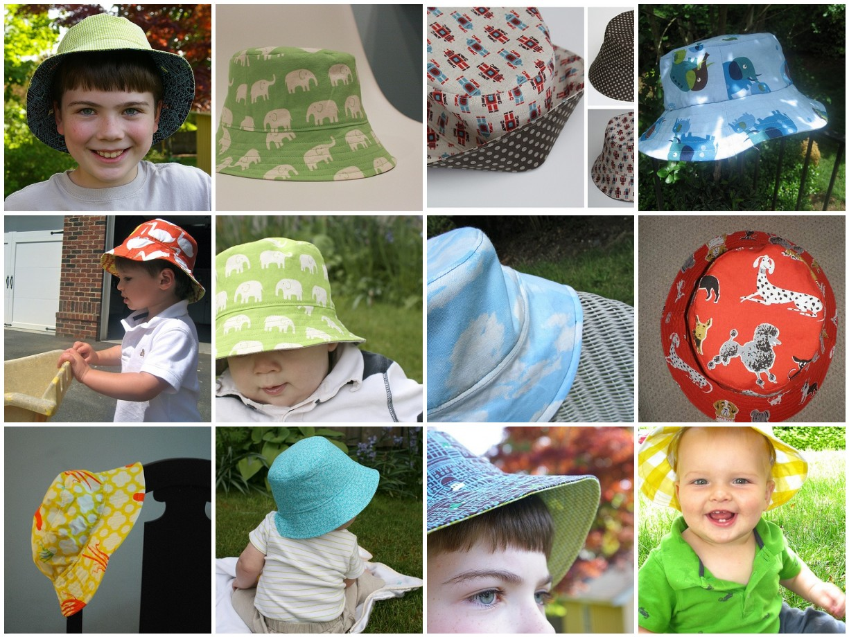 Summer Bucket Hat for Elliot - Made By Rae e8c84a6ae0e