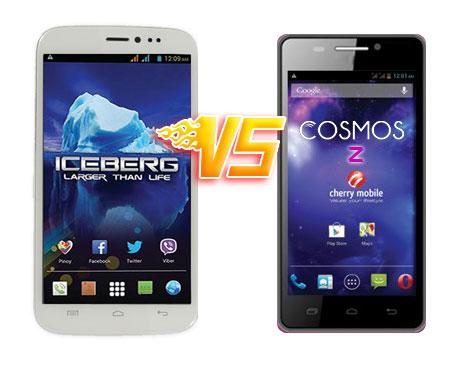 MyPhone Iceberg vs Cherry Mobile Cosmos Z