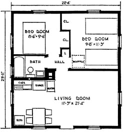 House plans home plans of 2011 shotgun house floor plan for Fha house plans