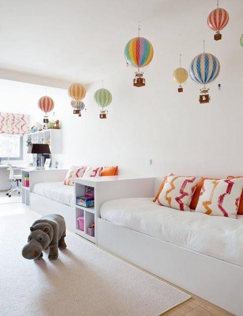 deco montgolfières pour les enfants
