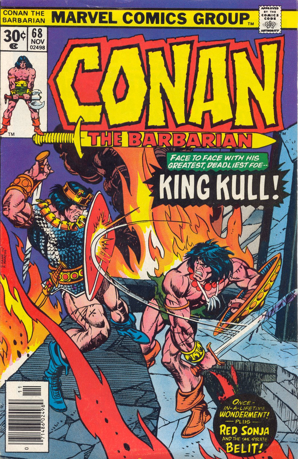 Conan the Barbarian (1970) 68 Page 1