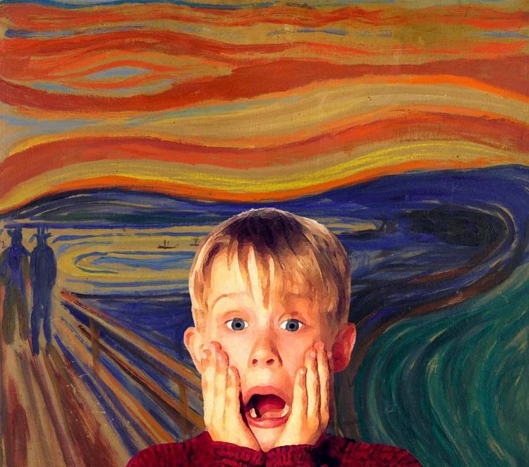 Resultado de imagem para o grito quadro