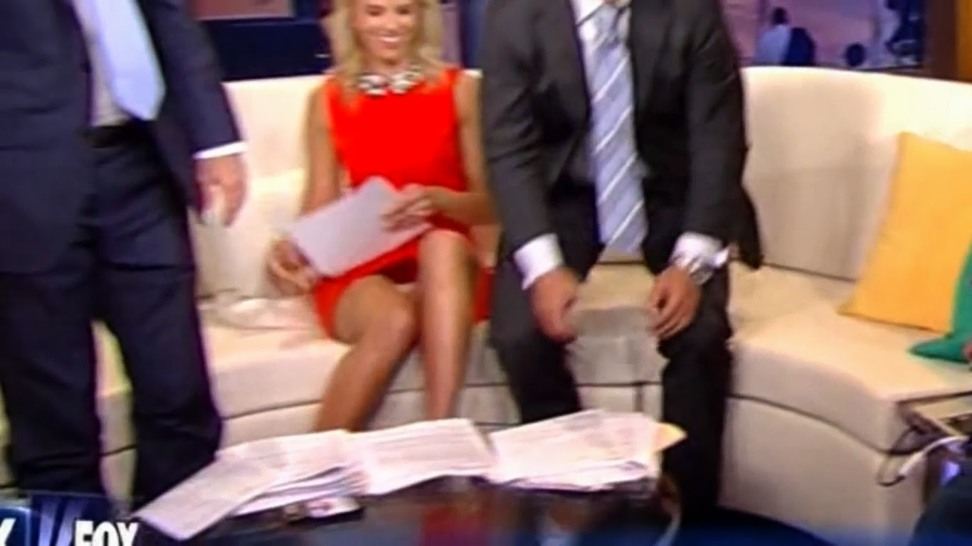 Prompt reply best newscaster upskirt