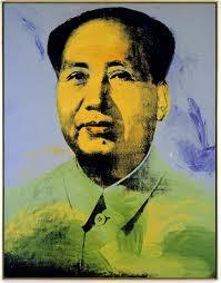 Mao de Warhol, imagen utilizada en el ensayo de arte Marilyn, Andy Warhol y Walter Benjamin realizado por Juan Sánchez Sotelo para la Academia de dibujo y pintura Artistas6 de Madrid.
