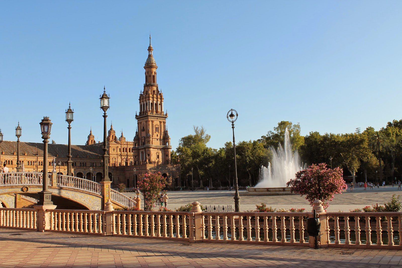The Plaza de España