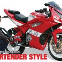 Yamaha V-Ixion '09 : Bartender Style