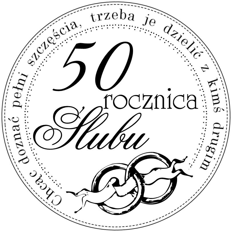 Digi Stemple By Novinka 50 Rocznica ślubu