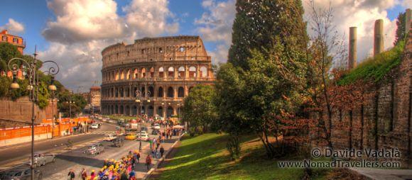 El Coliseo de Roma - Autor ©Davide Vadalà - (www.nomadtravellers.com)
