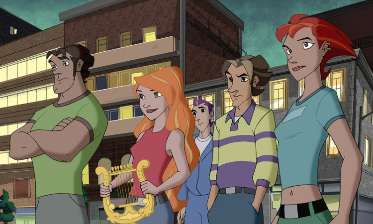 Class of the Titans Animated Television Series