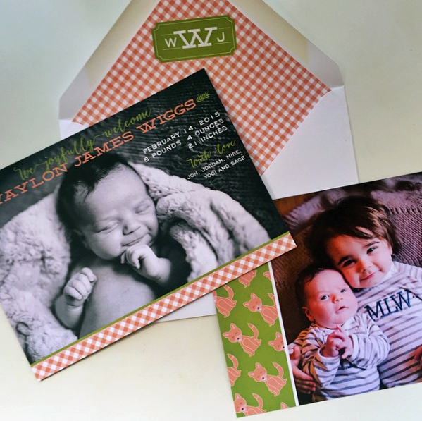 The Art of the Custom Birth Announcement