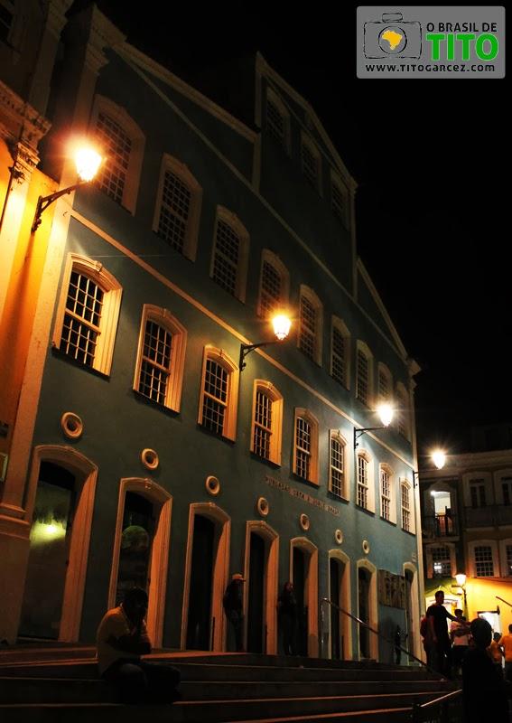 Fundação Casa de Jorge Amado, no Largo do Pelourinho, no Centro Histórico de Salvador, na Bahia - Por Tito Garcez em 2013