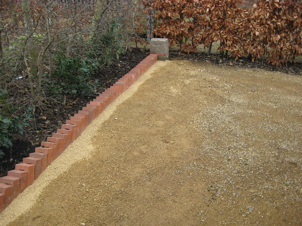 Welcome To The Green Heart Dens Blog Page Installing New Brick Edging
