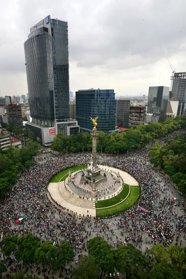 The Angel of Independence, Mexican City, Mexico