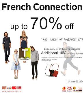 French Connection UK Sale @ 1 Utama 2013