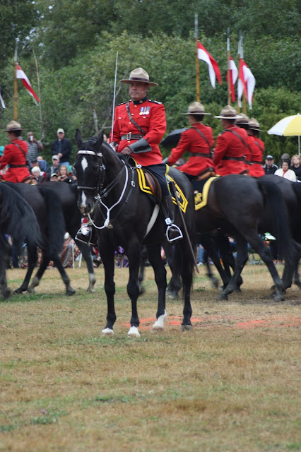 RCMP Musical Ride commander