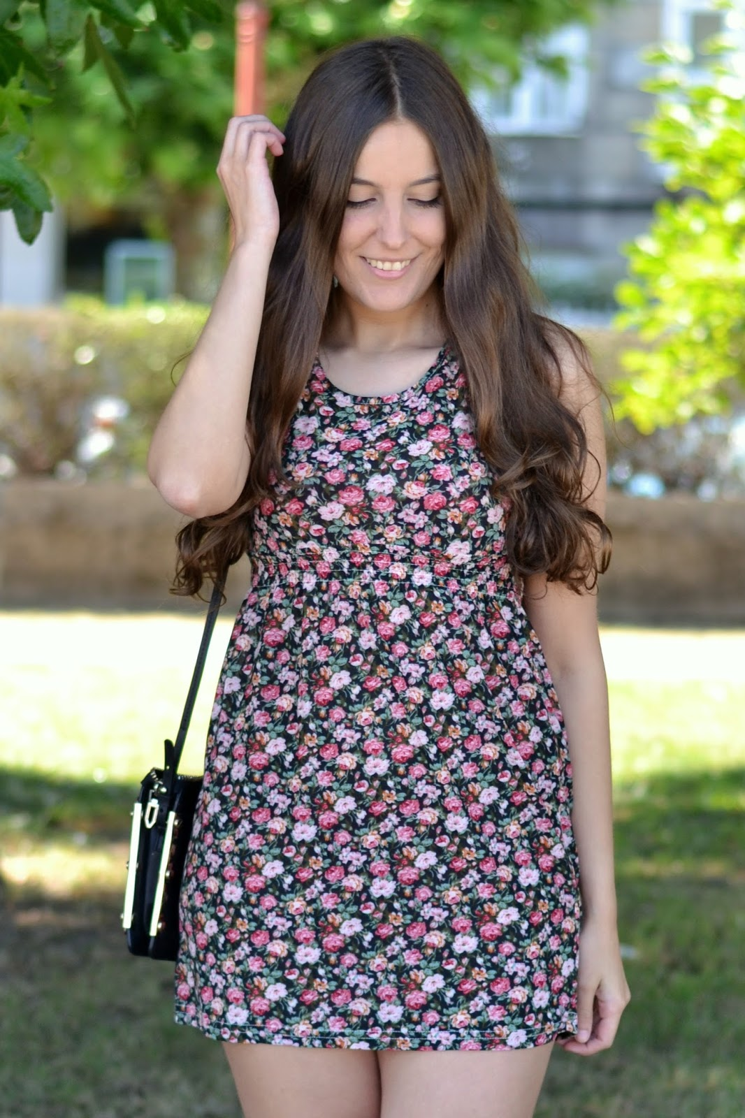 cndirect floral print dress