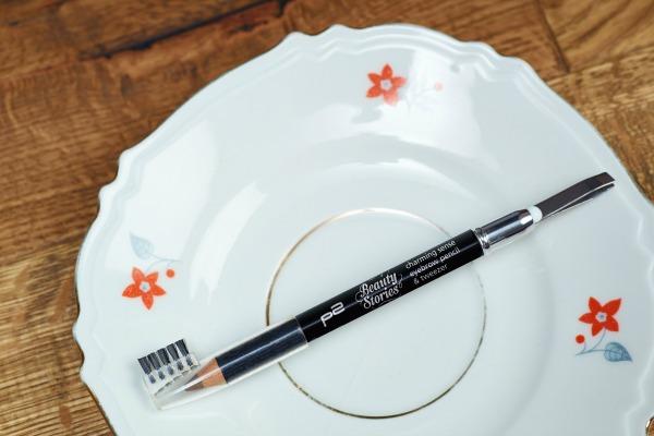 p2 beauty stories le - charming sense eyebrow pencil & tweezer